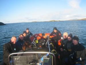 Boat Divers on Saturday 28th November