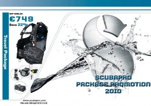 SCUBAPRO 2010 Special Offers