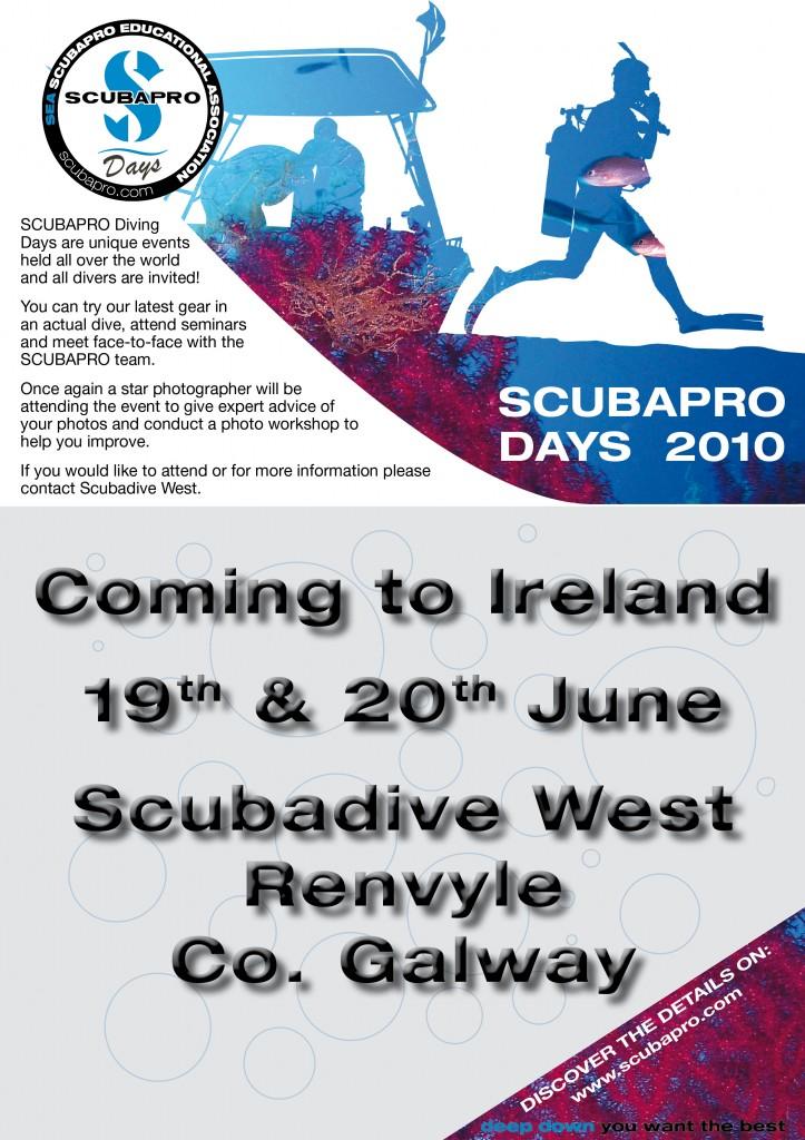 SCUBAPRO Days 2010 at Scubadive West