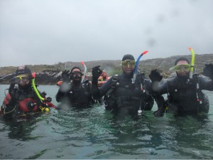 Happy Divers after their First Dive