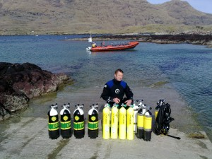 Cillian with the brand new cylinders