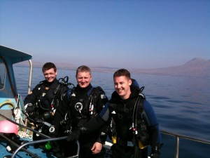 Combined Deep & Nitrox Specialty Students, Sunday 11th April