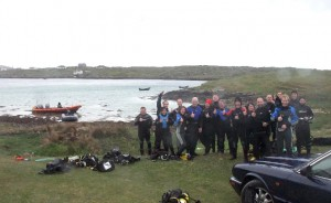 Our eighteen drifters before embarking on their adventure
