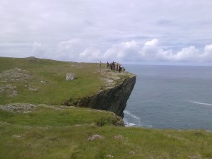 Cliff Top walk on High Island