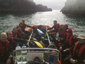Our Adventurous Divers, Saturday at Friar Island