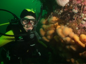 William, 11 years old, at Carrickaddy Reef
