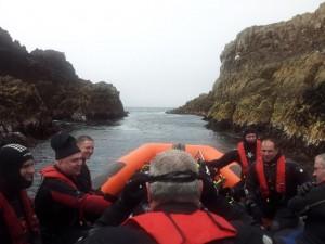 'The Malthoa' , Friar Island.
