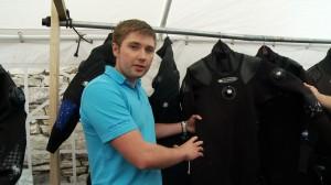 Josh Baker from 0'Three Drysuits