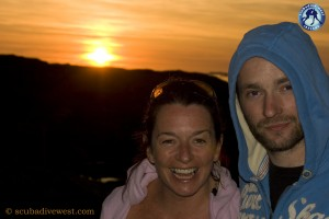 Aoife & Andy Sunset